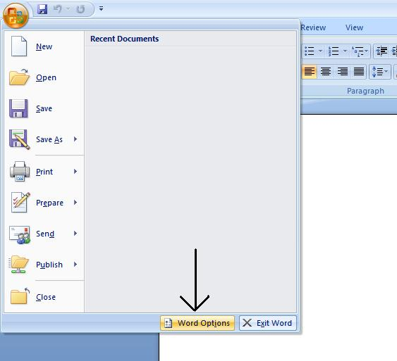 microsoft word temporary documents location