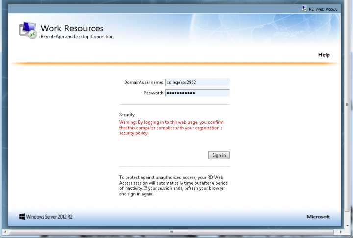 Accessing Remote Desktop Services (RDS) with Windows | Columbia