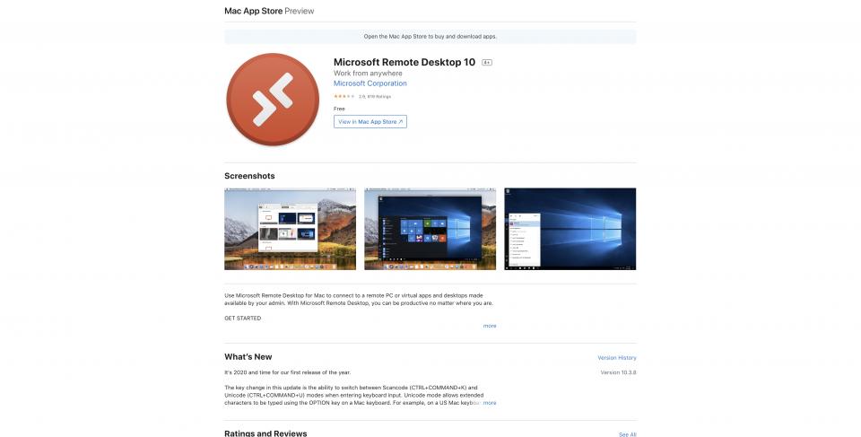 Mac App Store Preview